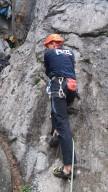 Jurica in start position. Photo: L. Mudronja