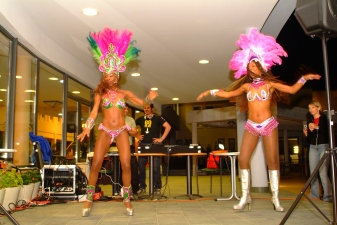 After every competition there is a party with music, drinks and in 2007 - some hot Brazilian dance! Photo: D. Pačić