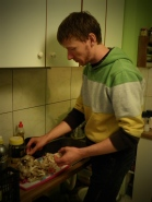 Jurica is an excellent cook - and probaby more aware about good sport nutrition than some pro athletes