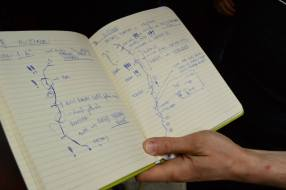 Route notes from the training book
