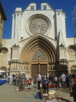 Tarragona Cathedral, dating from 12th centurary
