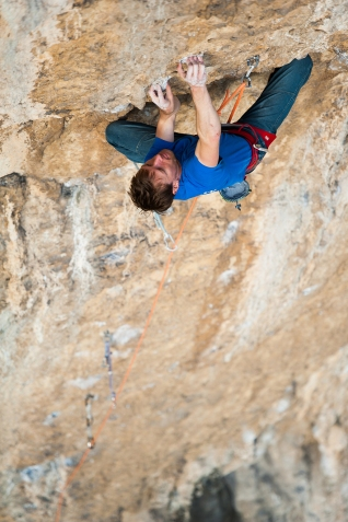 The second crux. about 7A fb, with dynamical finish.