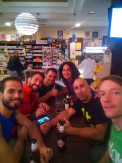 Italians pay special attention to food, so wrapping a day of climbing with a nice dinner is obligatory.